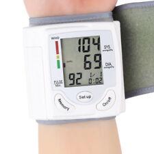 Automatic Digital Wrist Cuff Blood Pressure Monitor Heart Beat Rate Pulse Meter