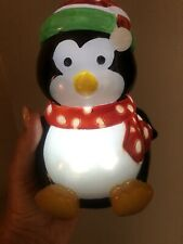 7� Penguin-Lights Up- Battery Operated - Works Great!