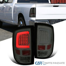For 09-18 Dodge Ram 1500 10-18 2500 3500 Smoke LED DRL Strip Tail Lights Lamps