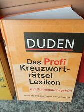 Duden: Das Profi Kreuzworträtsel Lexikon mit Schnellsuchsystem