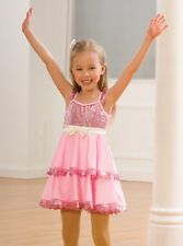 Girls Pink Dance Costumes