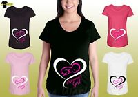 Maternity Graphic Tee Shirt Mother Belly Babby Designed Funny Pregnancy Shirt