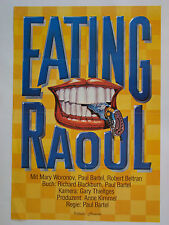 EATING RAOUL Paul Bartel, Richard Blackburn - Original Filmplakat DIN A1