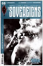 THE SOVEREIGNS 3 Dynamite Magnus Turok Stephen Segovia B&W Incentive Variant NM+