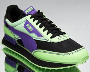 Puma Future Rider Future Mutants Men's Elektro Green Black Lifestyle Sneakers