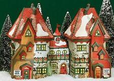 Dept 56 North Pole ~ North Pole Dolls & Santa's Bear Works ~ Mint In Box 56359