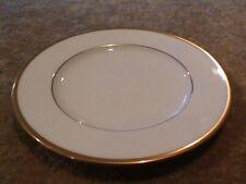 "Noritake Bone China Troy Pattern 9726, 8"" SALAD PLATE, GOLD TRIM"