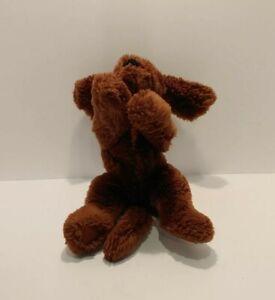 "Gund Muttsy Puppy Dog 14"" Chocolate Lab Suede Paws 320049 Stuffed Animal Plush"