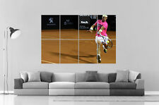 Rafael Nadal Tennis 2 Poster A0 Large Print