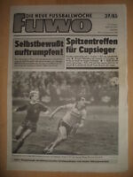 FUWO 37 - 10.9. 1985 3* Ralf Minge Kreer Riesa-Frankfurt 3:0 Rostock-BFC 0:1