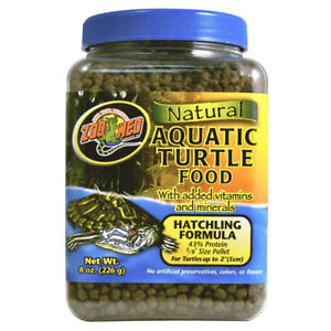 Zoo Med Aquatic Turtle Terrapin Food Maintanence Growth Hatchling