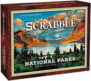 SCRABBLE: National Parks Edition SEALED UNOPENED FREE SHIPPING