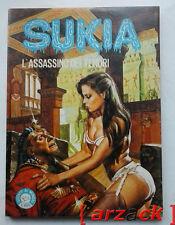 SUKIA 50 l'assassino dei tenori EDIFUMETTO 1979 fumetto erotico