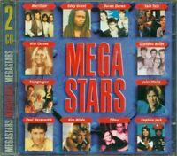 Mega Stars - Talk Talk/Marillion/Spandau Ballet/Kim Carnes/Kajagoogoo 2X Cd Vg