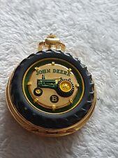 John Deere Franklin Mint Collectable Pocket Watch