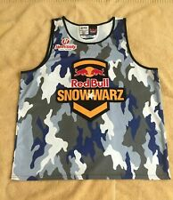 RED BULL 2014 SNOWWARZ TAHOE HEAVENLY VALLEY SNOWBOARD COMPETITORS JERSEY XXL