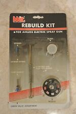 NEW MIT Rebuild Kit for Airless Electric Spray Gun Spinner, Filter, Pump Rod