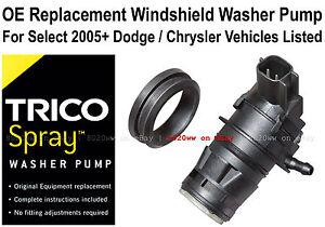Windshield / Wiper Washer Fluid Pump - Trico Spray 11-535