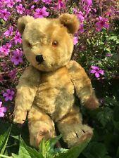 """BRADLEY"" OLD BRITISH CHILTERN TEDDY BEAR - 1950's/60's"