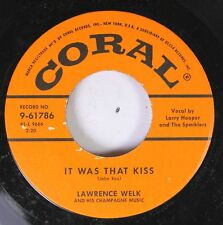 50'S Coral Nos 45 Lawrence Welk - It Was That Kiss / Falling Star On coral