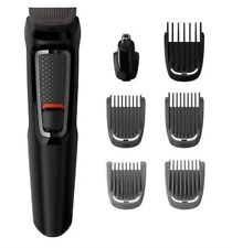 PHILIPS MG3720/33 Mens 7-in-1 Rechargeable Hair Trimmer Clipper Body Groomer NEW