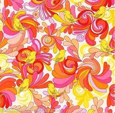 Valori Wells -In the Bloom - Tweet Trip - pink, FQ or yardage available