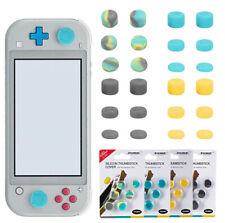 6pcs Thumb Stick Grip Joystick Soft Cap Cover Button For Nintendo Switch NS Lite