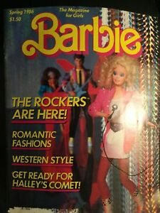 1986 BARBIE Spring Magazine The Rockers Are Here Edition 10*20*20