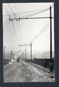 Camelon Falkirk Tram Number 2 In Larbert Road Postcard Size Photo As Scanned