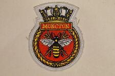 Canadian Navy RCN HMCS Patrol Vessel Moncton Crest Patch