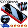 500000mAh External Battery Portable Charger Dual USB Powerbank for Cell Phone