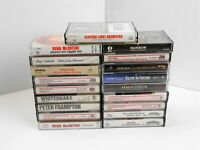 Lot of 19 Cassettes, Rock Country Pop Soundtrack, All in VG Condition