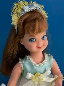 1966 Vintage Barbie Sundae Treat Tutti wears Flower Girl Outfit #3615