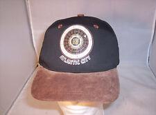 Atlantic City Adjustable Hat Cap Black & Brown Trump Nice!!