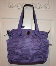 Lululemon Triumphant Purple Duffel Gym Tote Bag