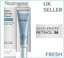 NEW Neutrogena Rapid Wrinkle Repair EYE Cream RETINOL Anti MAX STRENGTH Serum