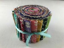 Floral Fling Jelly Roll 17 - 2.5� Strips 100% Cotton Quilting Sewing Fabric