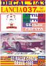 "DECAL 1/43 LANCIA 037 RALLY ""WEST"" A.BETTEGA R. COSTA BRAVA 1985 DnF (01)"
