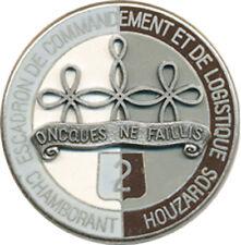 2° Régiment de Hussards, Esc. Commandement Logistique, rond, type 1,Drago (9135)