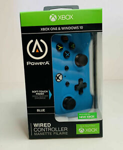 PowerA Enhance Wired Controller for Xbox One Windows 10 Soft Touch Power A New