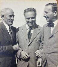 TOSCANINI, WALTER, & ZWEIG: Original Susan HOELLER Photograph