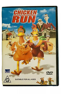 Chicken Run DVD - R4 - From The Creators Of Wallace & Grommit