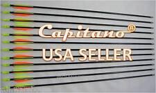 "28""-6 Capitano® Archery Fiberglass Target Practice Arrows Nocks Fletches, 71CM"