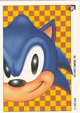 1993 TOPPS SONIC THE HEDGEHOG STICKER CARD #17 SONIC