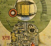 Uwe Bremer (*1940) Edition 1 v 10 Farbradierung 1977: ROBOTER UNTER HYPNOSE