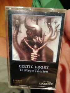 Celtic Frost - To Mega Therion - Tape