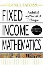 Fixed Income Mathematics: Analytical and Statistical Techniques (Hardback or Cas