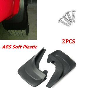 1 Pair ABS Soft Plastic Fender Splash Guard For All Kinds Of Truck/Vans & RV's