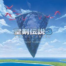Trials of Mana Switch PS4 SEIKEN DENSETSU 3 Original Secret CD Soundtrack VGM