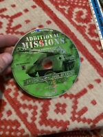 Sudden Strike And Additional Missions (PC, 2001) (NO CODE) Discs Only